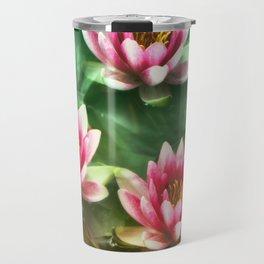 Waterlilies delicate Travel Mug