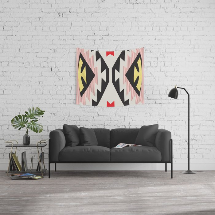 American Native Pattern No. 153 Wall Tapestry