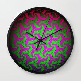 little dragons Wall Clock