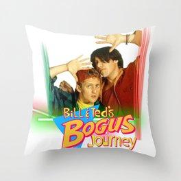 Bogus journey Throw Pillow