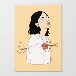 Love Struck Canvas Print