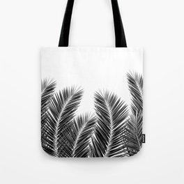 White Palm Skies Tote Bag