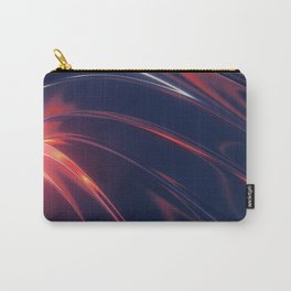 Iridescent Metal Carry-All Pouch