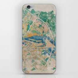 Amsterdam, the watercolor beauty iPhone Skin