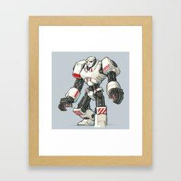 Giant Industrial Robot! Framed Art Print