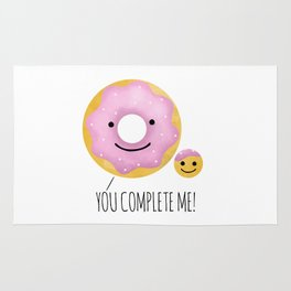 You Complete Me Rug