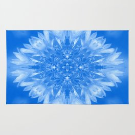 Out in the clouds of flowers.... Rug