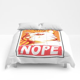 Obey Cats Comforters