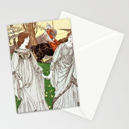 The Passer-By (Le Passant) - Vintage Art Print Stationery Cards
