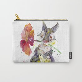 Thumper With Flower Carry-All Pouch