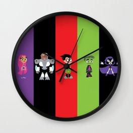 Teen Titans Go Wall Clock