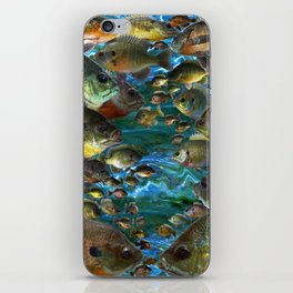 Bluegill Camo iPhone Skin
