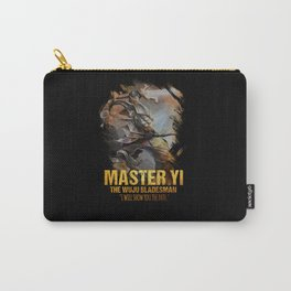 League of Legends MASTER YI - The Wuju Bladesman - video games champion Carry-All Pouch
