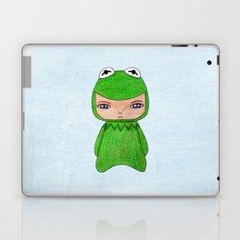 A Boy - Kermit the frog Laptop & iPad Skin