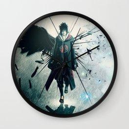 Dark Uchiha Wall Clock
