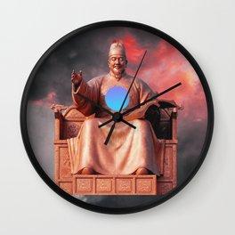 Création Wall Clock