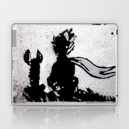 The little prince and the fox - stencil for the LIFE CURRENT WALL series Laptop & iPad Skin