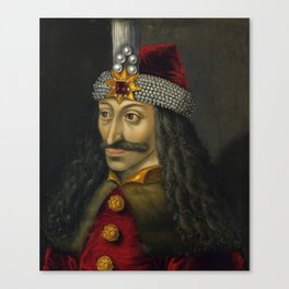 Vlad the Impaler Portrait Canvas Print