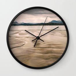 Beach and Mountains II Wall Clock