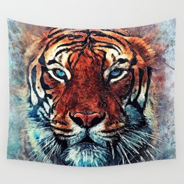 Tiger spirit Wall Tapestry