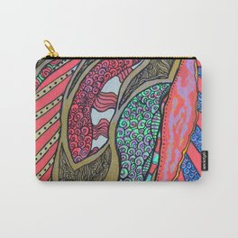 Dancin' Leaves Carry-All Pouch