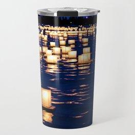 floating lanterns Travel Mug
