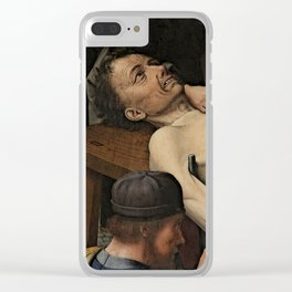 The Judgment of Cambyses Clear iPhone Case
