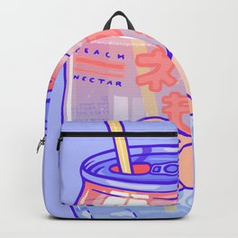 Peach Bubbles Backpack