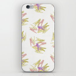 Сlothespins iPhone Skin