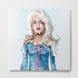 Barb Doll Metal Print