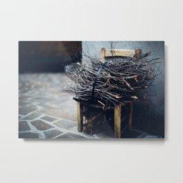 Bundle of twigs Metal Print