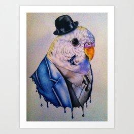 Bird Family, Dad Art Print