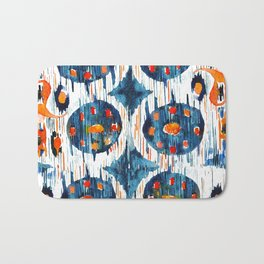 Balinese Pattern 02 Bath Mat
