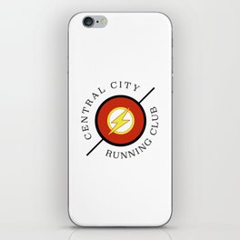 Central City running club iPhone Skin