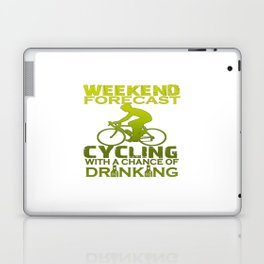 WEEKEND FORECAST CYCLING Laptop & iPad Skin