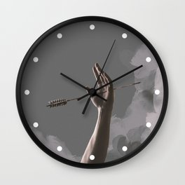 One of his kisses Wall Clock