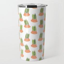Lemongrass in Pots 3 Travel Mug