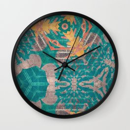 Wall Art Remix Kaleidoscope Style Wall Clock