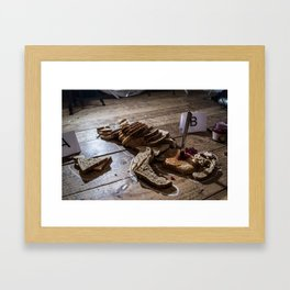 Brown Bread  Framed Art Print