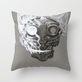 Escaping Soul Throw Pillow