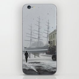 The Clipper in the snow iPhone Skin