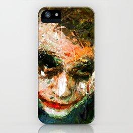 JOKER ART iPhone Case