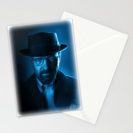 Walter White (Heisenberg) - by Richard Williams Stationery Cards
