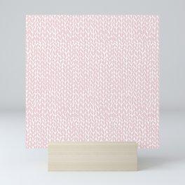 Hand Knit Bubblegum Mini Art Print