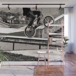 Wheelie Master  - BMX Biker Wall Mural