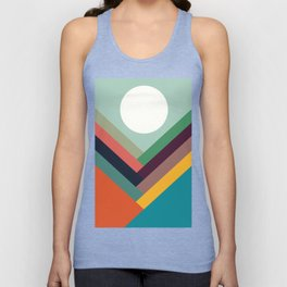 Rows of valleys Unisex Tank Top