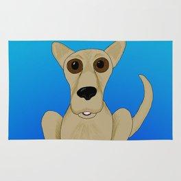 Basic Brown Dog Rug