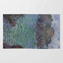 Belle-Ile by Claude Monet Rug