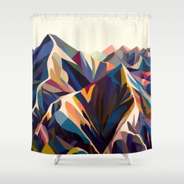 Mountains original Shower Curtain