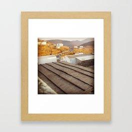 Island Rooftops  Framed Art Print